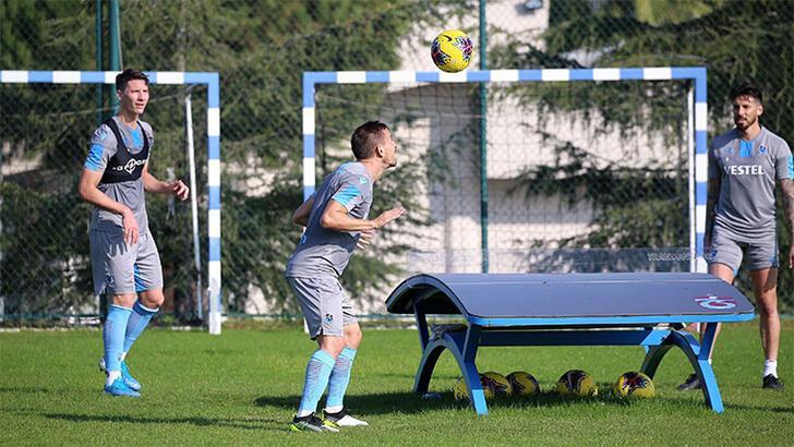 Trabzonspor'dan toparlanma çalışması