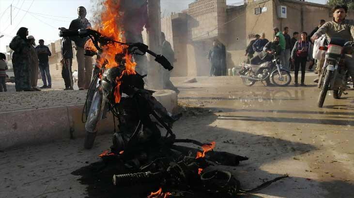 Cerablus'ta bombalı terör saldırısı: 1 ölü, 4 yaralı
