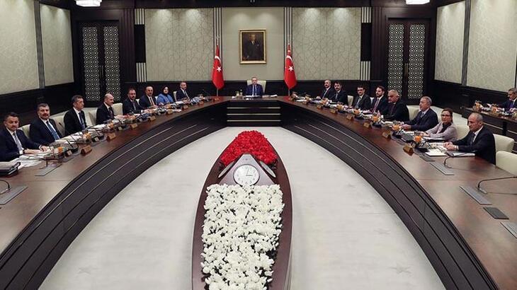 Cumhurbaşkanlığı Kabinesi Beştepe'de toplandı!