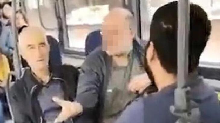 Genç kıza otobüste sözlü taciz! Kalk, gözüm sana kayıyor