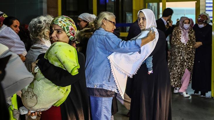 İstanbul'da hastanede korkutan yangın