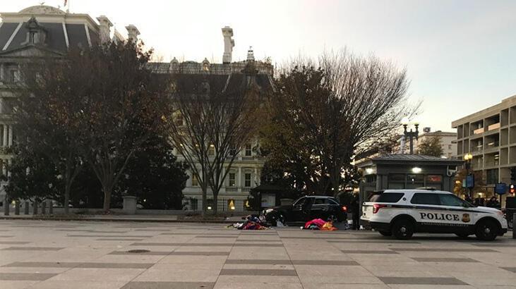 Son dakika... Beyaz Saray çevresinde alarm