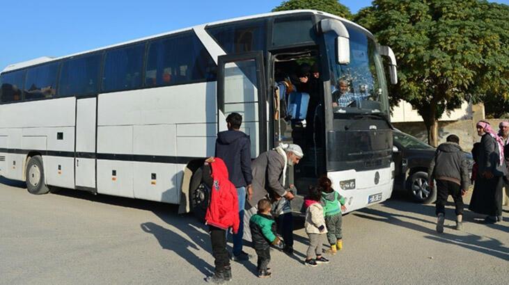 Bakanlık açıkladı! 70 aile daha yola çıktı!