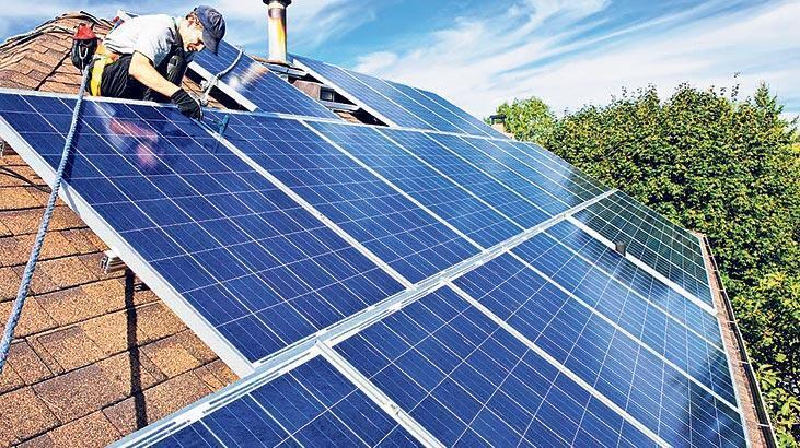 Çatıda güneş enerjisine bankalar kredi verecek