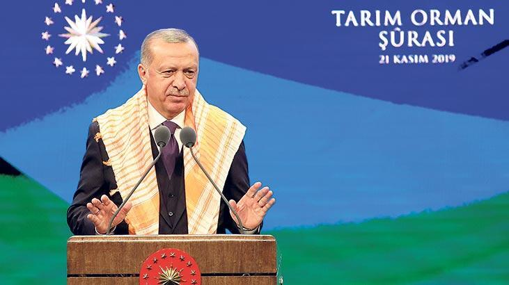 Erdoğan, Tarım ve Orman Şûrası'nda konuştu: Devlet yalan söylemez