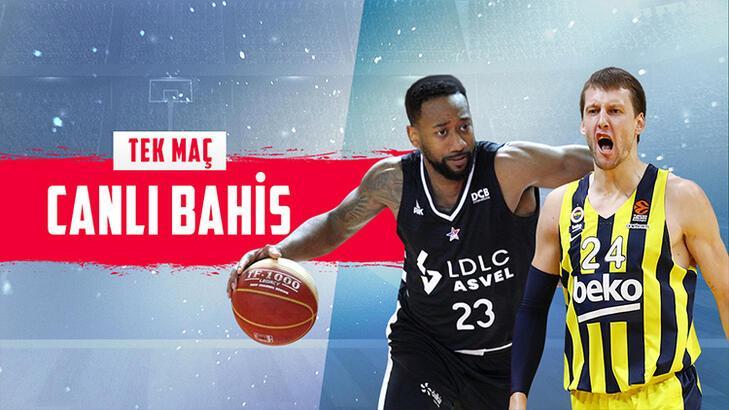 Asvel - Fenerbahçe Beko maçı canlı bahis heyecanı Misli.com'da