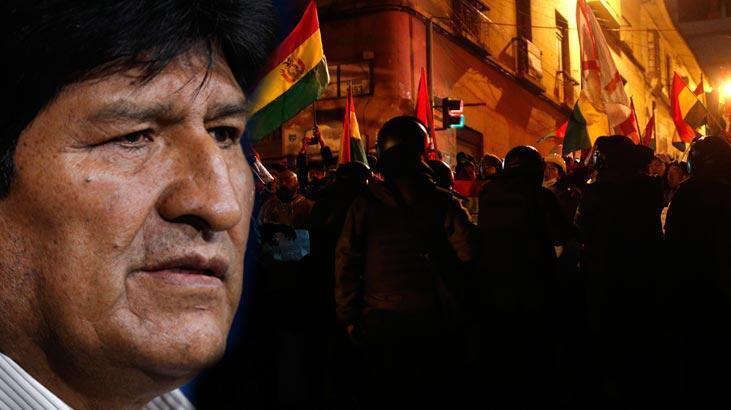 Morales hakkında 'ayaklanma çıkarmak' suçlamasıyla soruşturma