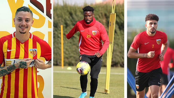 Kayserispor'da 3 futbolcu kadro dışı bırakıldı