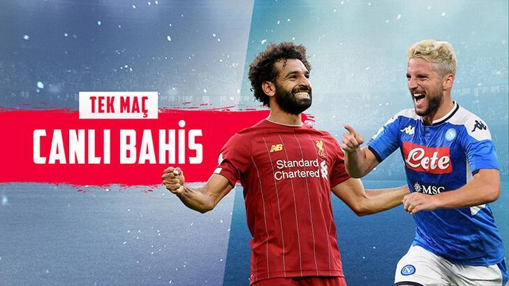 Liverpool 2-0 rövanşında Napoli karşısında! Dev maç canlı bahisle Misli.com'da...