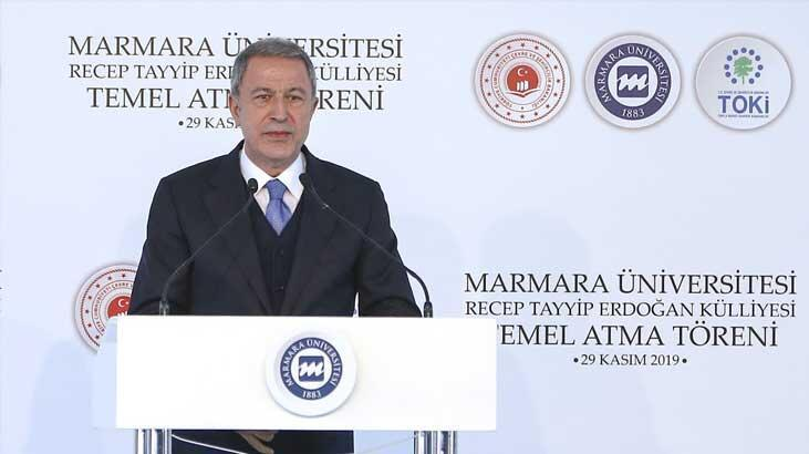 Bakan Akar: Önümüzdeki dönemde İzmir'e taşınması ile ilgili planlama yaptık