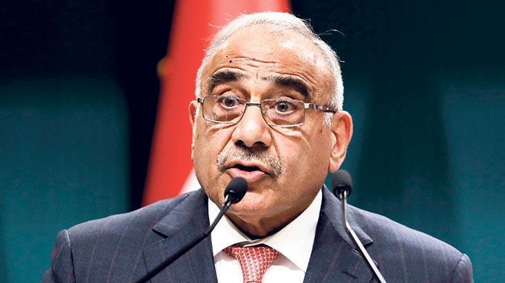 Irak'ta başbakan istifasını açıkladı