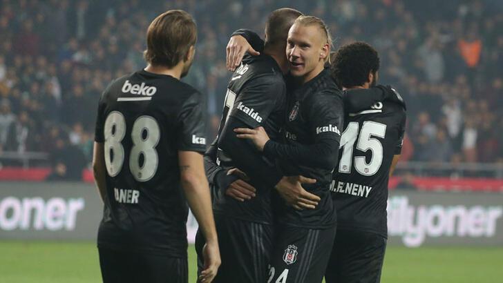 Beşiktaş 5'te 5 peşinde!
