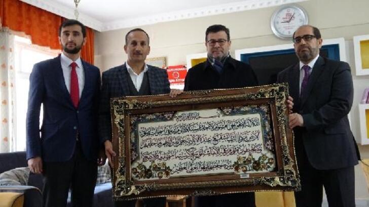 Diyanet İşleri Başkan Yardımcısı Muslu, Şemdinli'de incelemelerde bulundu