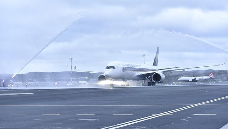 İstanbul - Singapur uçuşlarına dev uçak