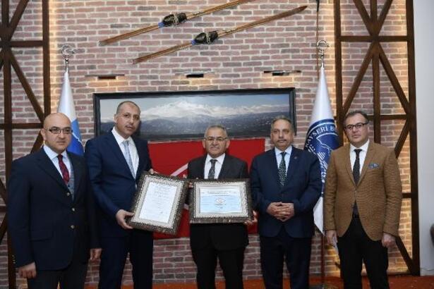 Erciyes'e 'Memnuniyet Yönetim Hizmet Belgesi' verildi