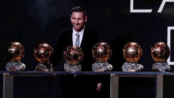 2019 Ballon D'or'un sahibi 6. kez Lionel Messi!