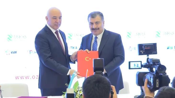 'Özbek-Türk Sağlık İş Forumu' Taşkent'te başladı