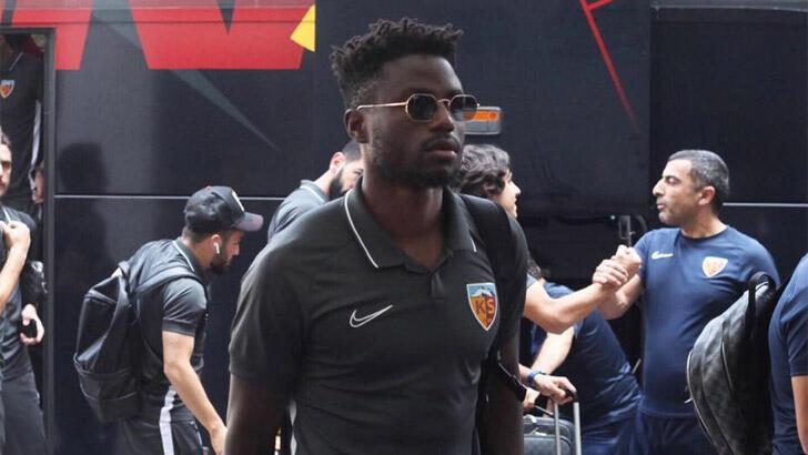 Kayserispor'da Paul Ntep sözleşmesini feshetti