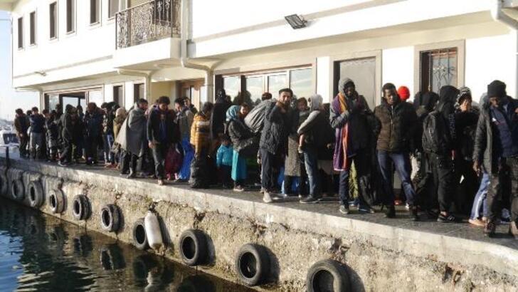 Çanakkale'de 247 kaçak göçmen yakalandı