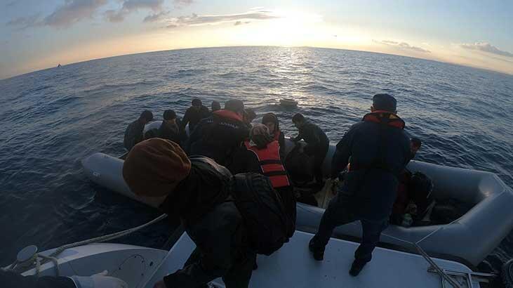 Çanakkale'de 51'i çocuk, 111 kaçak göçmen yakalandı