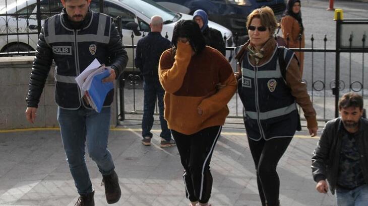 Fuhuş yaptırdığı iddia edilen kadın tutuklandı!