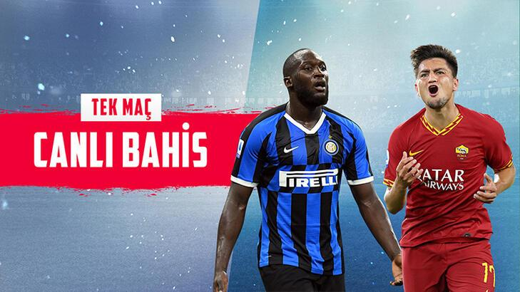 Inter - Roma maçı canlı bahis heyecanı Misli.com'da