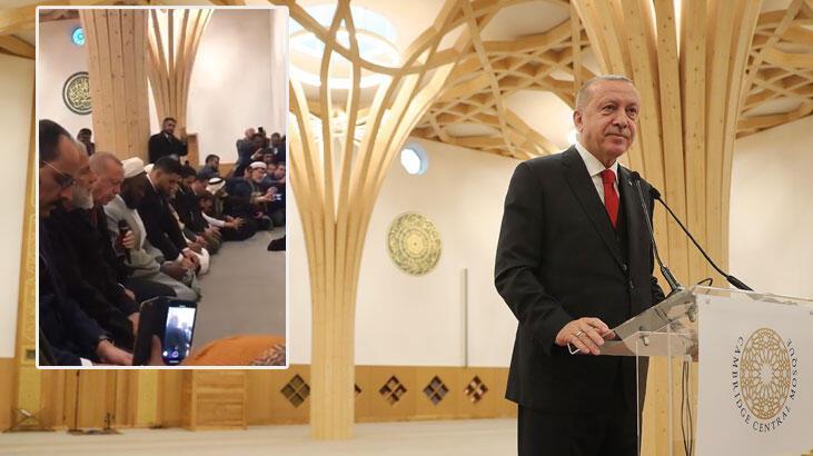 Cumhurbaşkanı Erdoğan tarihi açılışta Kur'an-ı Kerim okudu!