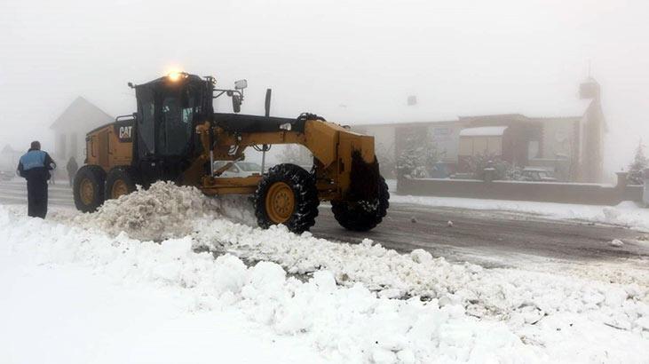 Elazığ'da 81 köy yolu ulaşıma kapandı