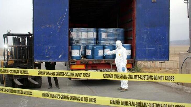 18,4 ton siyanür ele geçirildi!