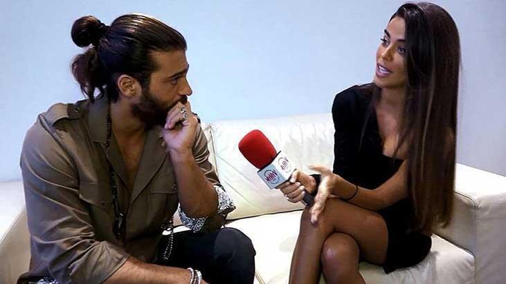 Can Yaman İspanyol muhabirle flört etmeye çalıştı
