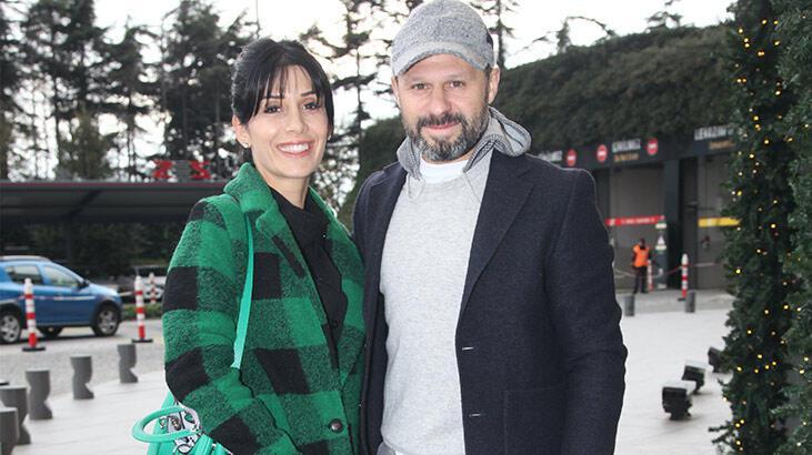 Gökdeniz-Serra Karadeniz çifti yeni yıl alışverişinde