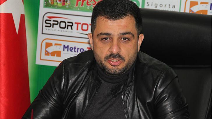 Giresunspor Başkanı Eren'e 45 gün hak mahrumiyeti