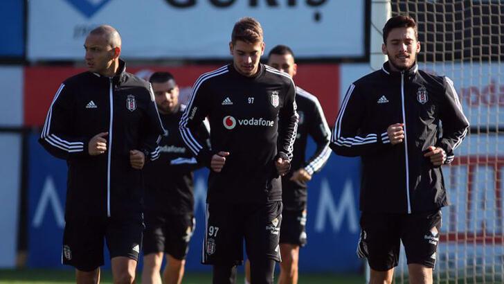 Beşiktaş'ta Kasımpaşa hazırlıkları başladı