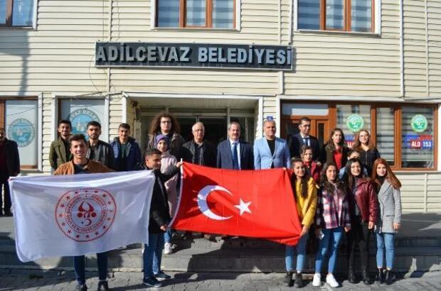 Başkan Necati Gürsoy, KYK öğrencilerini ağırladı
