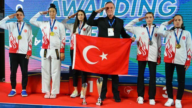 Türk kadın tekvandoculardan tarihi başarı