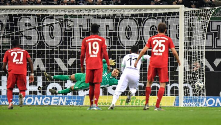 Mönchengladbach, Bayern Münih'i devirdi!
