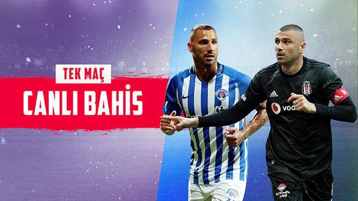 Kasımpaşa – Beşiktaş maçı canlı bahisle Misli.com'da!