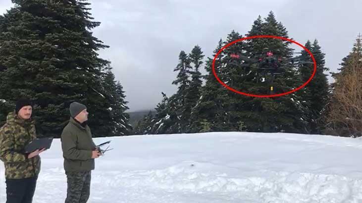 Uludağ'da kayıp dağcılar termal drone ile aranıyor