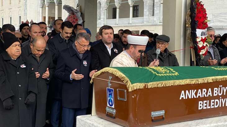 Fuat Oktay, Ankara'da cenaze törenine katıldı