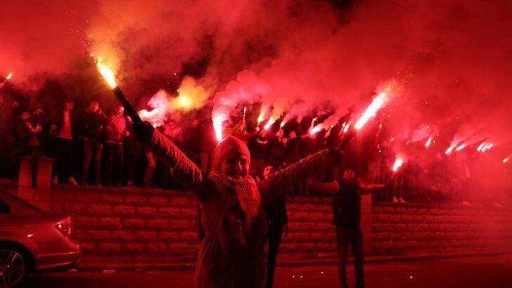 """Kayserispor'a """"meşaleli"""" destek"""