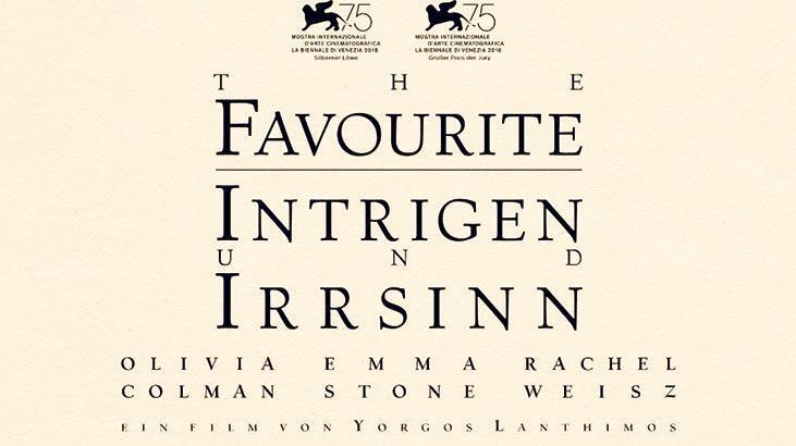 Avrupa Film Ödülleri'nde favori The Favourit