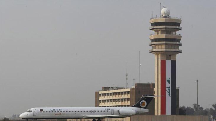 Bağdat'ta ABD askerlerinin bulunduğu havalimanı yakınına roketli saldırı