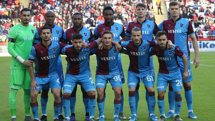 Trabzonspor deplasmanda başka