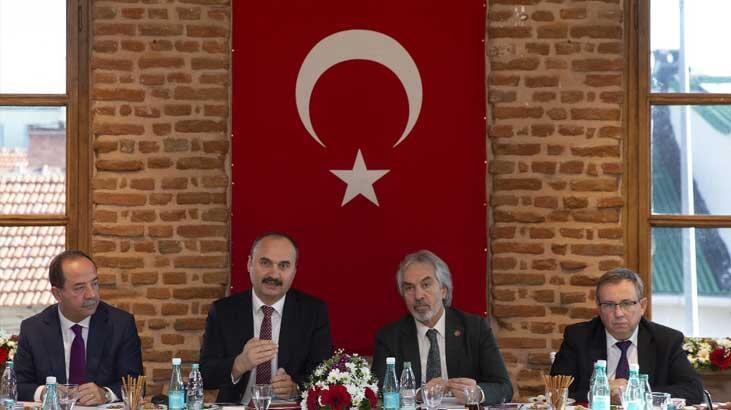 Cumhurbaşkanlığı Kültür ve Sanat Politikaları Kurulu üyeleri Edirne'de toplandı