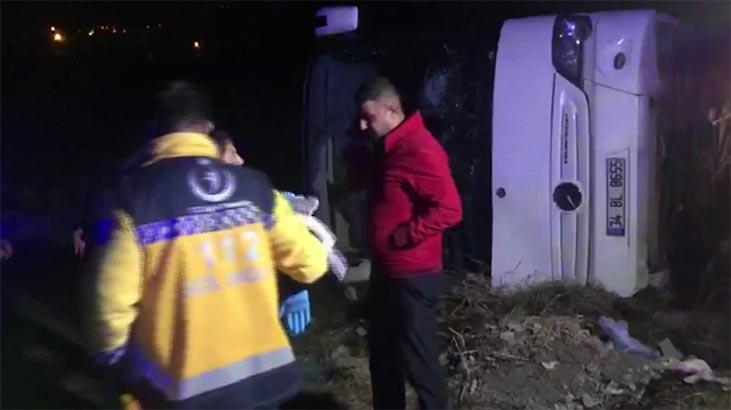 Son dakika | Erzincan'da otobüsle araç çarpıştı: Çok sayıda yaralı var