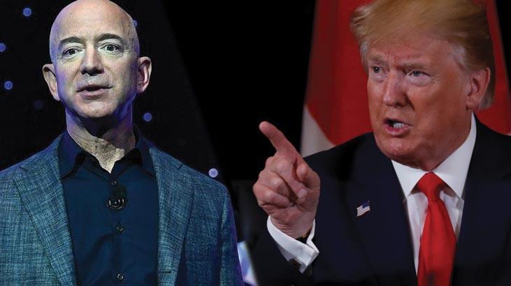 Amazon ve Trump arasında kılıçlar çekildi! '10 milyar dolarlık' suçlama