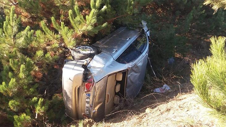 Pazarlar'da trafik kazası: 3 yaralı