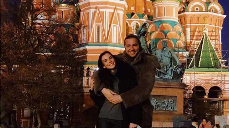 Neslişah Düzyatan'a Rusya'da romantik kutlama