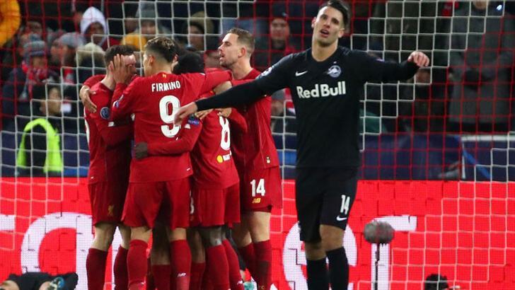 Salzburg - Liverpool: 0-2