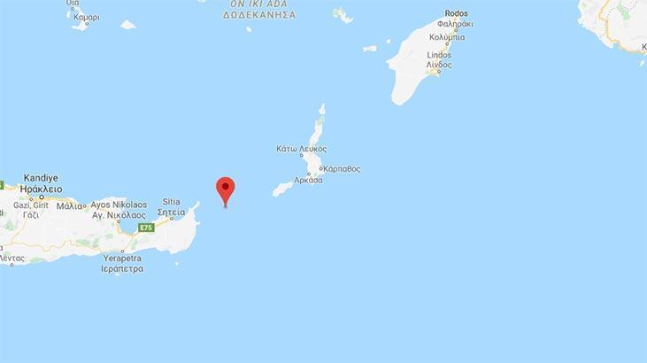 Son dakika   Ege Denizi'nde korkutan deprem